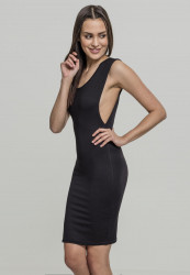 Dámske šaty URBAN CLASSICSLadies Deep Armhole Dress black
