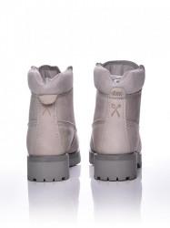 Dámske šedé topánky na zimu Dorko WOODSMAN #4