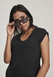 Dámske slnečné okuliare Urban Classics 106 Chain Sunglasses Future black/black Pohlavie: dámske