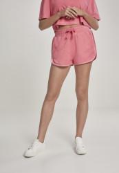 Dámske šortky Urban Classics Ladies Towel Hot Pants pinkgrapefruit