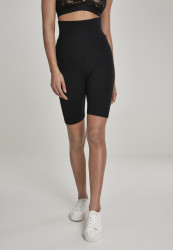Dámske športové kraťasy Urban Classics Ladies High Waist Cycle Shorts black
