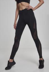 Dámske športové legíny URBAN CLASSICS Ladies Triangle Tech Mesh Leggings