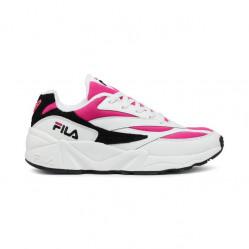 Dámske tenisky FILA WMNS 94 Low White/Very Berry/Black