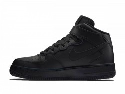 Dámske tenisky Nike Air Force 1 Mid (GS) Black #1