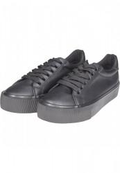 Dámske tenisky Urban Classics Plateau Sneaker black