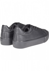 Dámske tenisky Urban Classics Plateau Sneaker black #2