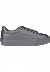 Dámske tenisky Urban Classics Plateau Sneaker black #4