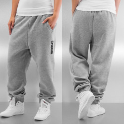 Dámske tepláky Dangerous DNGRS Soft Dream Leila Ladys Logo Sweat Pants Heather Grey Size: L
