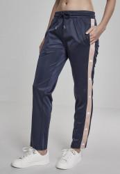Dámske tepláky URBAN CLASSICS Ladies Button Up Track Pants navy/lightrose/white