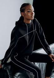 Dámske tepláky Urban Classics Ladies Reflective Sweatpants black