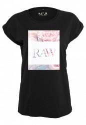 Dámske tričko Merchcode Ladies Hustler Raw Tee