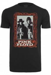 Dámske tričko MERCHCODE Ladies Pink Floyd Logo Tee Farba: black,