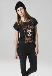 Dámske tričko Merchcode Ladies Selena Gomez Kill Em Skull Tee