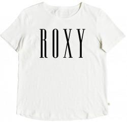 Dámske tričko s krátkym rukávom Roxy Red Sunset marshmallow biele