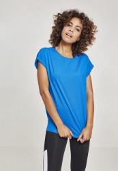 Dámske tričko s krátkym rukávom Urban Classics Ladies Extended Shoulder Tee brightblue