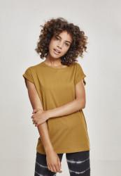 Dámske tričko s krátkym rukávom Urban Classics Ladies Extended Shoulder Tee nut