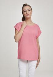 Dámske tričko s krátkym rukávom Urban Classics Ladies Extended Shoulder Tee pinkgrapefruit