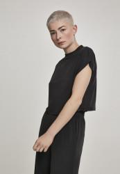 Dámske tričko Urban Classics Ladies Modal Short Tee black