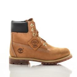 Dámske vodeodolné hnedé kožené zimné topánky Timberland ICON 6-INCH Premium