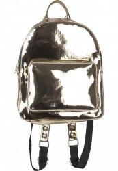 Dámsky Batoh Urban Classics Midi Metallic Backpack zlatý