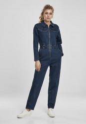 Dámsky overal URBAN CLASSICS Ladies Boiler Suit darkblue