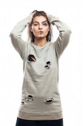 DANNY´S CLOTHING Béžové triko UNISEX - M / Barva: Béžová