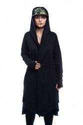 DANNY´S CLOTHING Černý cardigan UNISEX - S / Barva: Černá