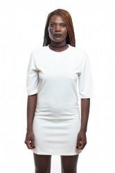 DANNY´S CLOTHING Dlouhé tričko bílé - S / Barva: Bílá