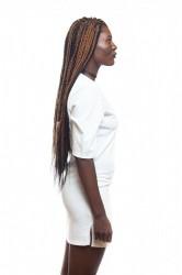 DANNY´S CLOTHING Dlouhé tričko bílé - S / Barva: Bílá #1