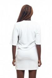 DANNY´S CLOTHING Dlouhé tričko bílé - S / Barva: Bílá #2
