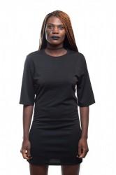 DANNY´S CLOTHING Dlouhé tričko černé - S / Barva: Černá