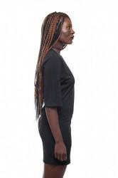 DANNY´S CLOTHING Dlouhé tričko černé - S / Barva: Černá #1