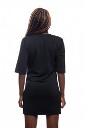 DANNY´S CLOTHING Dlouhé tričko černé - S / Barva: Černá #2