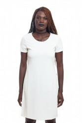 DANNY´S CLOTHING Dlouhé tričko ze skvělého materiálu - Bílá / Barva: Bílá