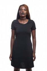 DANNY´S CLOTHING Dlouhé tričko ze skvělého materiálu - Černá / Barva: Černá