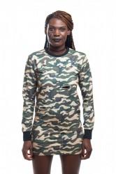 DANNY´S CLOTHING Maskáčované dlouhé triko UNISEX - M / Barva: Camo