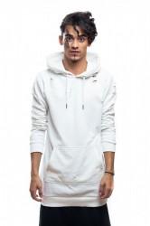 DANNY´S CLOTHING Natrhaná mikina s kapucí UNISEX - L / Barva: Bílá