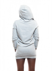 DANNY´S CLOTHING Sivá mikina Danny Clothing potrhaná UNISEX #1
