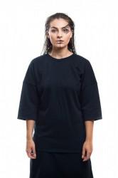 DANNY´S CLOTHING Tričko s dlouhým rukávem UNISEX - Černá / Barva: Černá