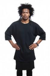 DANNY´S CLOTHING Tričko s dlouhým rukávem UNISEX - S / Barva: Černá