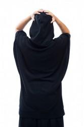 DANNY´S CLOTHING Tričko s křídly UNISEX - L / Barva: Černá #2