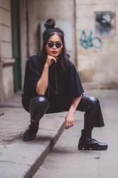 DANNY´S CLOTHING Tričko s křídly UNISEX - L / Barva: Černá #4