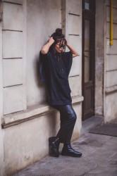 DANNY´S CLOTHING Tričko s křídly UNISEX - L / Barva: Černá #5
