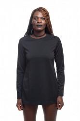 DANNY´S CLOTHING Triko s dlouhým rukávem ze skvělého materiálu - L / Barva: Černá