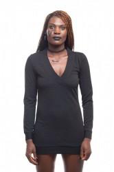 DANNY´S CLOTHING Triko s Véčkem černé - Černá / Barva: Černá