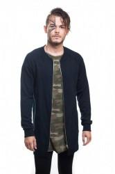 DANNY´S CLOTHING Triko se zipem UNISEX - L / Barva: Černá, Velikost: M