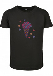 Detské tričko MR.TEE Kids Ice Cream Short Sleeve Tee Farba: black, Grösse: 158/164
