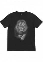 Detské tričko MR.TEE Kids Lion Tee Farba: black,