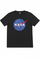 Detské tričko MR.TEE Kids NASA Insignia Tee Farba: black,