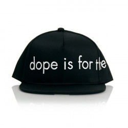 Dope For the Kids Snapback Black - UNI